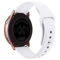 Samsung Galaxy Watch Active Silicone Wristband - White