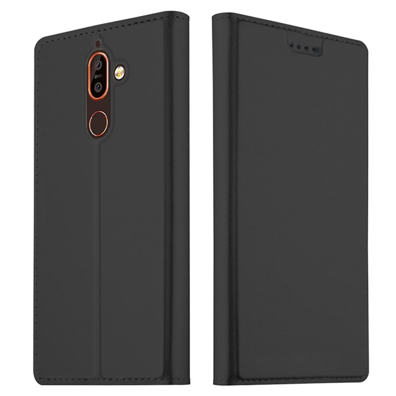 cheaper 084a5 62907 Nokia 7 Plus Slim Flip Case with Card Slot