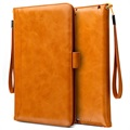 iPad Mini 3, iPad Mini 4 Smart Flip Case with Hand Strap - Brown