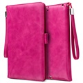 iPad Mini 3, iPad Mini 4 Smart Flip Case with Hand Strap - Hot Pink
