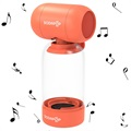 Sodapop Bass Bottle Bluetooth Speaker - Orange