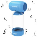 Sodapop Bass Bottle Bluetooth Speaker - Blue