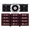 Sony Ericsson G900 Keypad - Latin Red