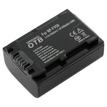 Sony NP-FV50 Camcorder Battery - 650mAh