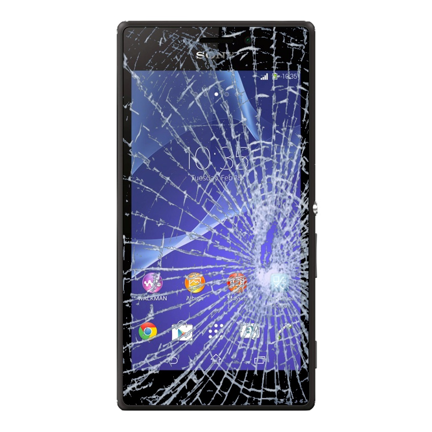 Sony Xperia M2 Display Glass Amp Touch Screen Repair Black