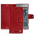 Sony Xperia XZ1 Noreve Tradition B Wallet Leather Case - Red