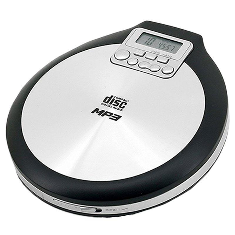 Soundmaster cd9220 portable cd player black silver - Mobile porta cd ...