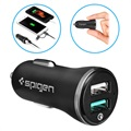 Spigen F27QC Quick Charge 3.0 Car Charger - 2xUSB, 5.4A - Black