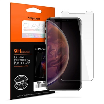 Spigen Glas.tR Slim HD iPhone XS Max Screen Protector - 9H - Clear