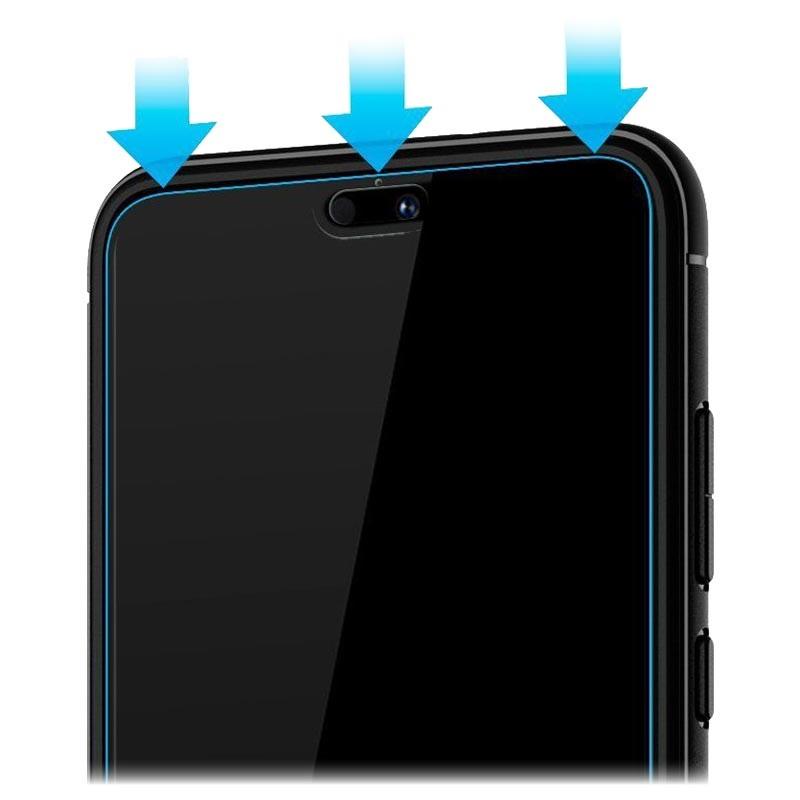 promo code d2d98 c6c9f Spigen Glas.tR Slim Huawei P20 Pro Tempered Glass Screen Protector - Black