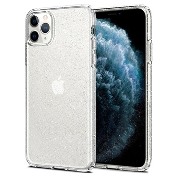 Spigen Liquid Crystal Glitter iPhone 11 Pro Case - Transparent