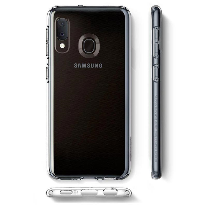 Spigen Liquid Crystal Samsung Galaxy A20e TPU Case - Transparent