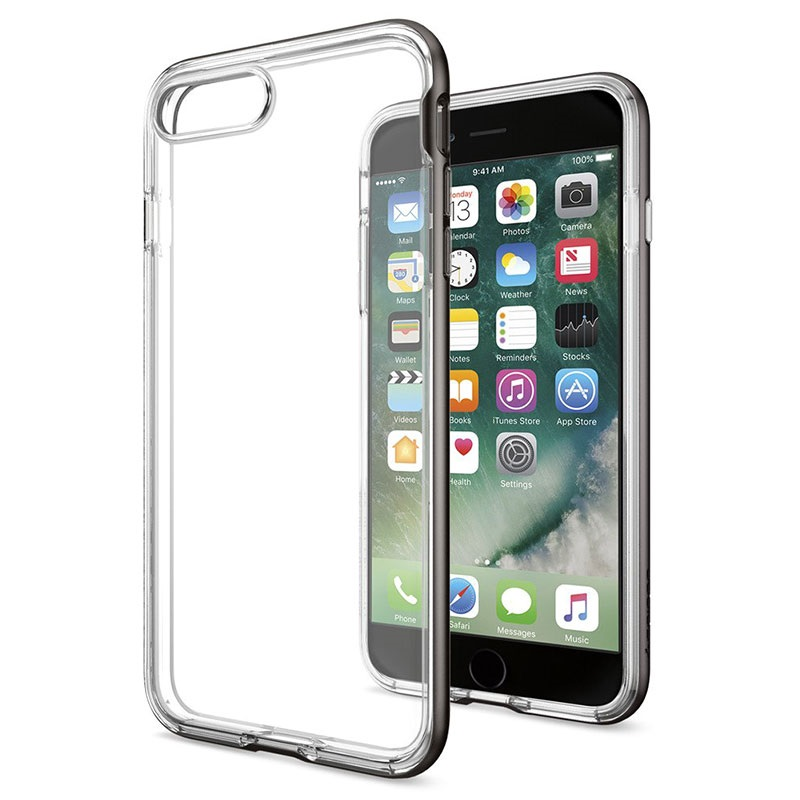 100% authentic 1f5df 128f7 iPhone 7 Plus Spigen Neo Hybrid Crystal Case