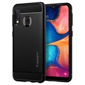 Spigen Rugged Armor Samsung Galaxy A20e Case - Black