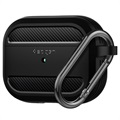 Spigen Rugged Armor AirPods Pro TPU Case - Black