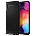 Spigen Rugged Armor Samsung Galaxy A50 TPU Case - Black