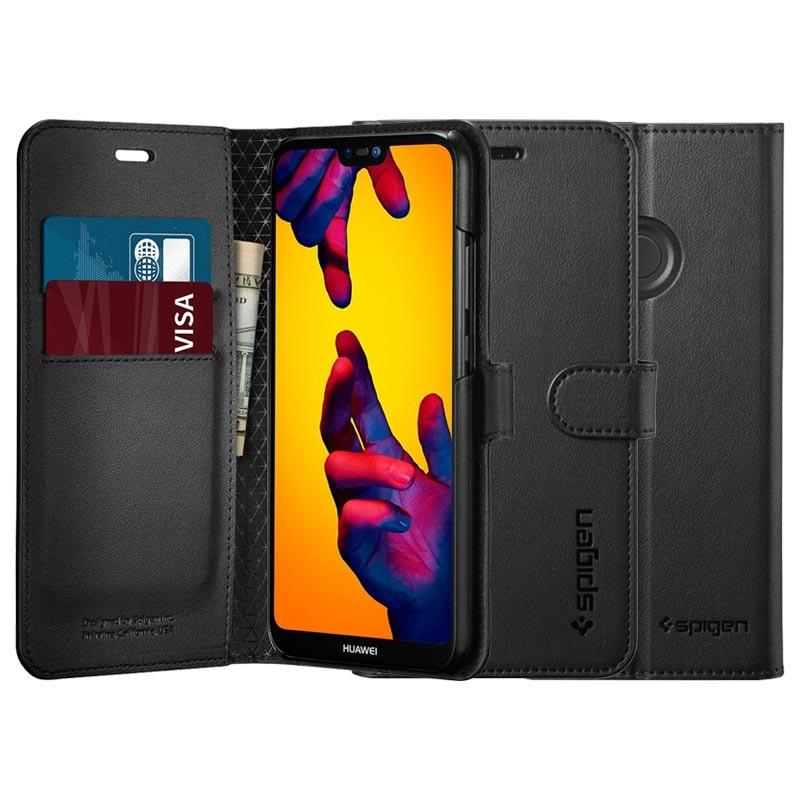 huge selection of 3b358 7195b Spigen S Huawei P20 Lite Wallet Case - Black