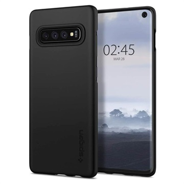 Spigen Thin Fit Samsung Galaxy S10 Case - Black
