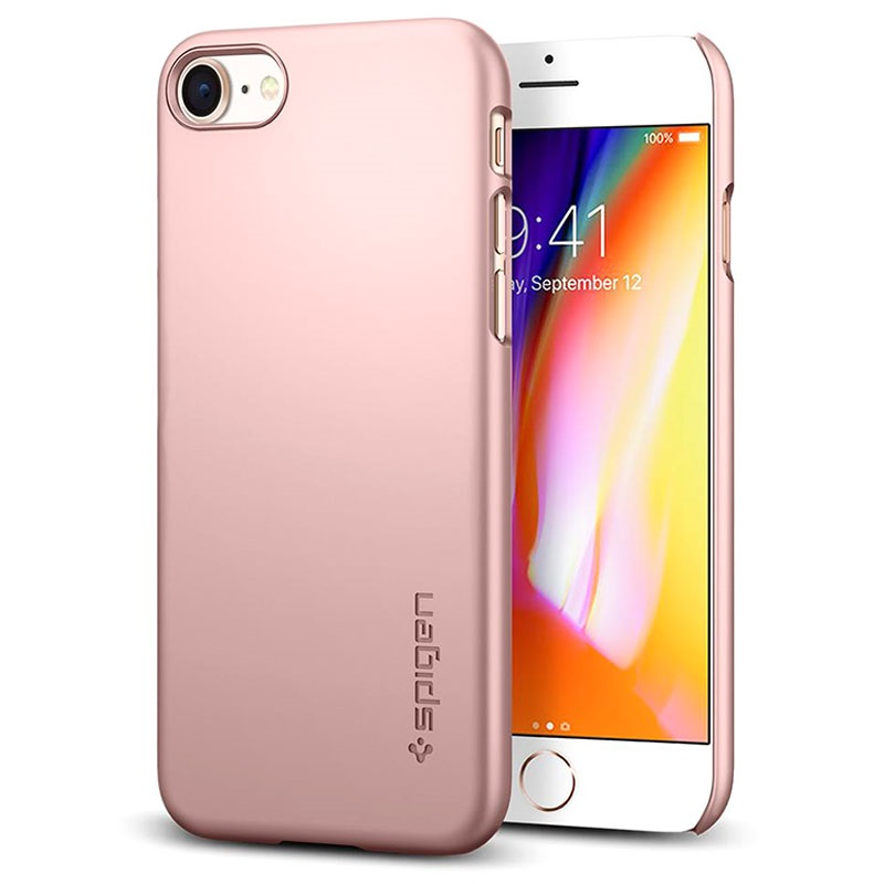 newest 63eb7 d3232 Spigen Thin Fit iPhone 7 / iPhone 8 Cover