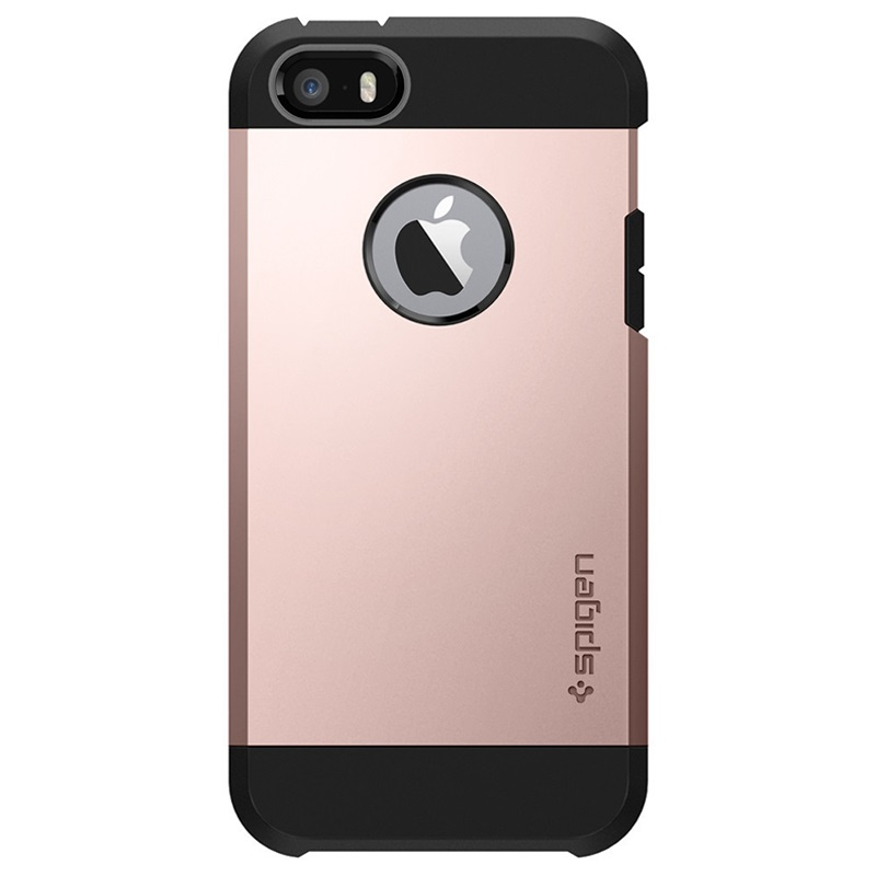 new style 2c6c5 5f49a iPhone 5/5S/SE Spigen Tough Armor Case