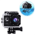 Sports SJ60 Waterproof 4K WiFi Action Camera - Black