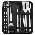 Stainless Steel Barbecue Tool Set with Portable Bag - 20 Pcs.