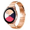 Samsung Galaxy Watch Active Stainless Steel Strap - Rose Gold