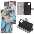 Style Series iPhone 11 Pro Wallet Case - Blue Butterfly