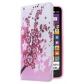 Nokia Lumia 1320 Wallet Case - Pink Flowers