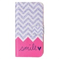 Samsung Galaxy A5 (2017) Wallet Case - Smile