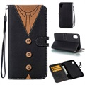 Suit Up iPhone XR Wallet Case - Man Tie