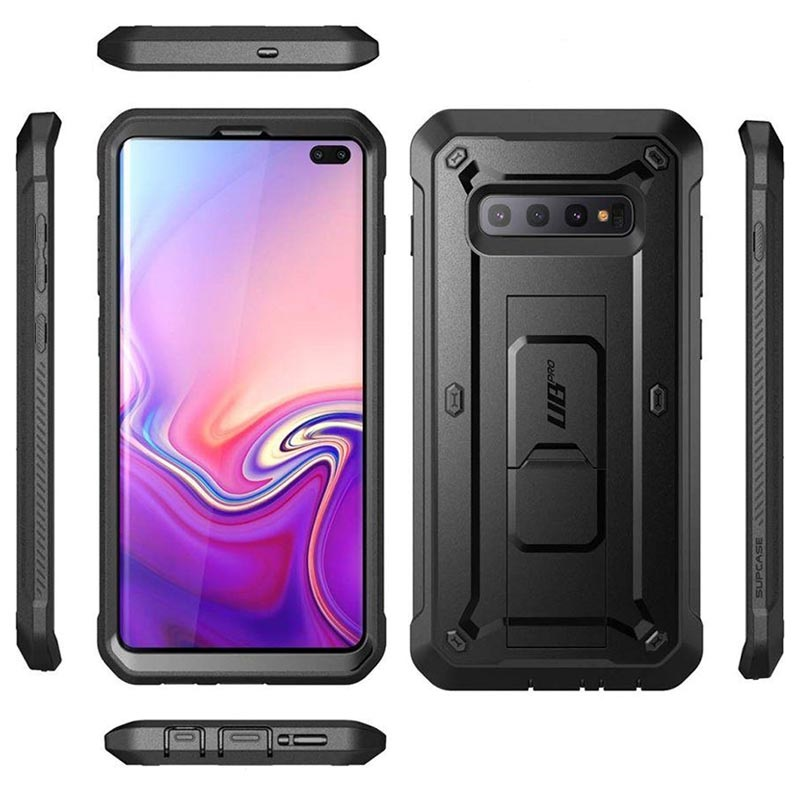 Supcase Unicorn Beetle Pro Samsung Galaxy S10+ Hybrid Case - Black