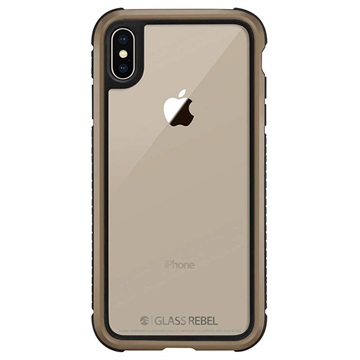 low priced cbb46 e0660 SwitchEasy Glass Rebel iPhone X / iPhone XS Case