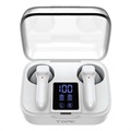 TOPK T20 TWS Touch Earphones with Charging Case - White