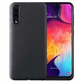 Samsung Galaxy A50 TPU Case - Carbon Fiber - Black