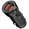 Tactical YSL-399 QuickCharge 3.0 Car Charger - 3.1A - Black