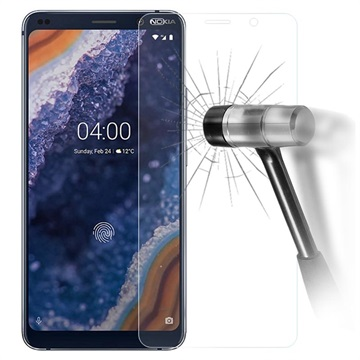 Nokia 9 PureView Tempered Glass Screen Protector - 9H, 0.3mm - Clear