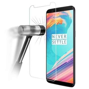 OnePlus 5T Tempered Glass Screen Protector - Crystal Clear