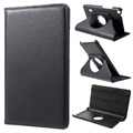 Huawei MediaPad T3 7.0 Textured Rotary Case - Black