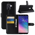 Samsung Galaxy A6+ (2018) Wallet Case with Stand