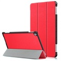 Huawei Mediapad M5 lite Tri-Fold Smart Folio Case - Red