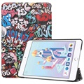 Tri-Fold Series iPad Mini (2019) Smart Folio Case - Graffiti