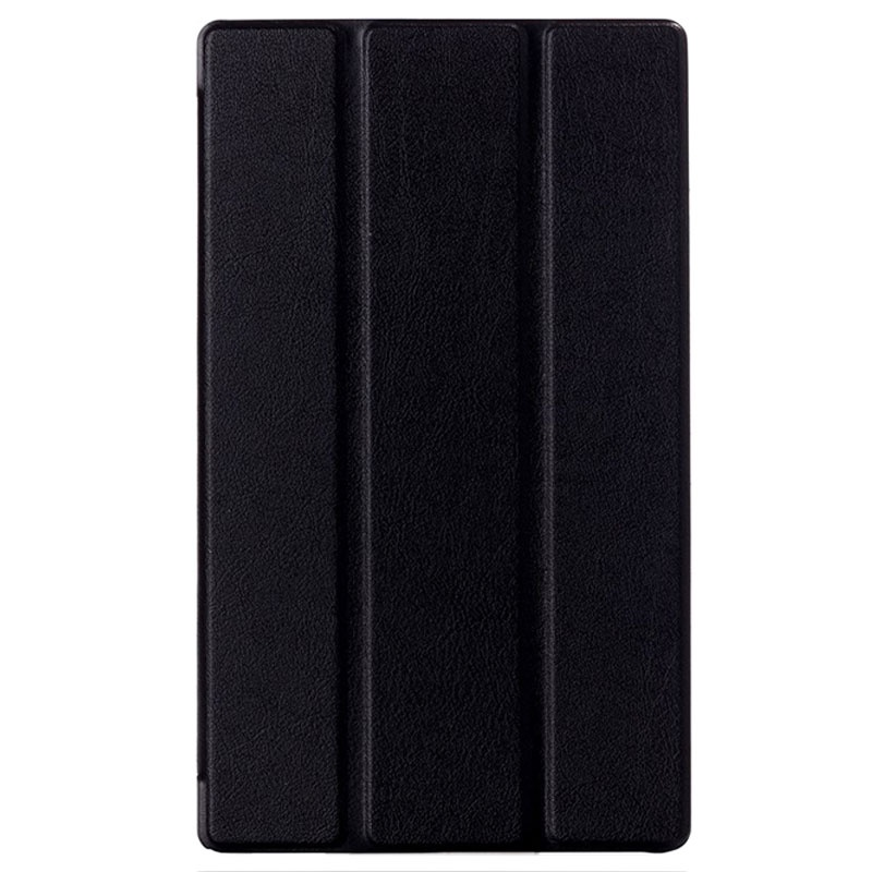 Sony Xperia Z3 Tablet Compact Tri-Fold Leather Case - Black