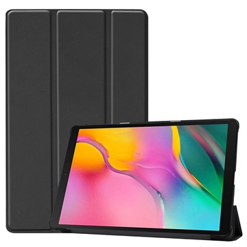 Tri-Fold Series Samsung Galaxy Tab A 10.1 (2019) Folio Case - Black