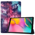Tri-Fold Series Samsung Galaxy Tab A 10.1 (2019) Folio Case - Galaxy