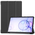 Tri-Fold Series Samsung Galaxy Tab S6 Smart Folio Case - Black