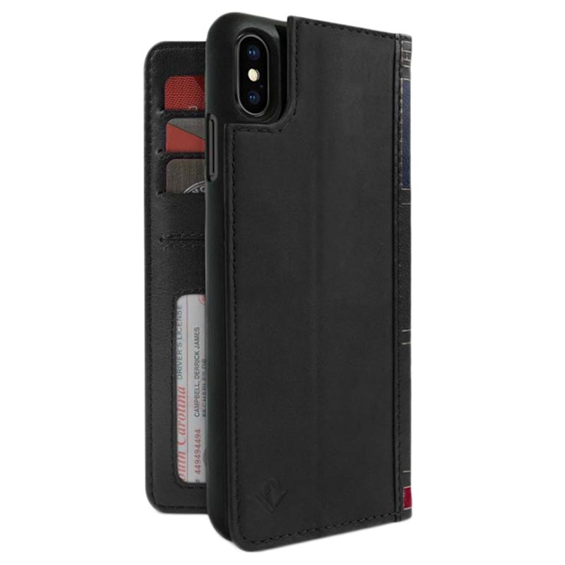 Twelve South BookBook iPhone XS Max Wallet Leather Case