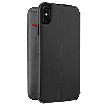 Twelve South SurfacePad iPhone XS Max Flip Leather Case