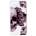 Huawei P10 Plus Ultra-Slim TPU Case - Sugar Skull