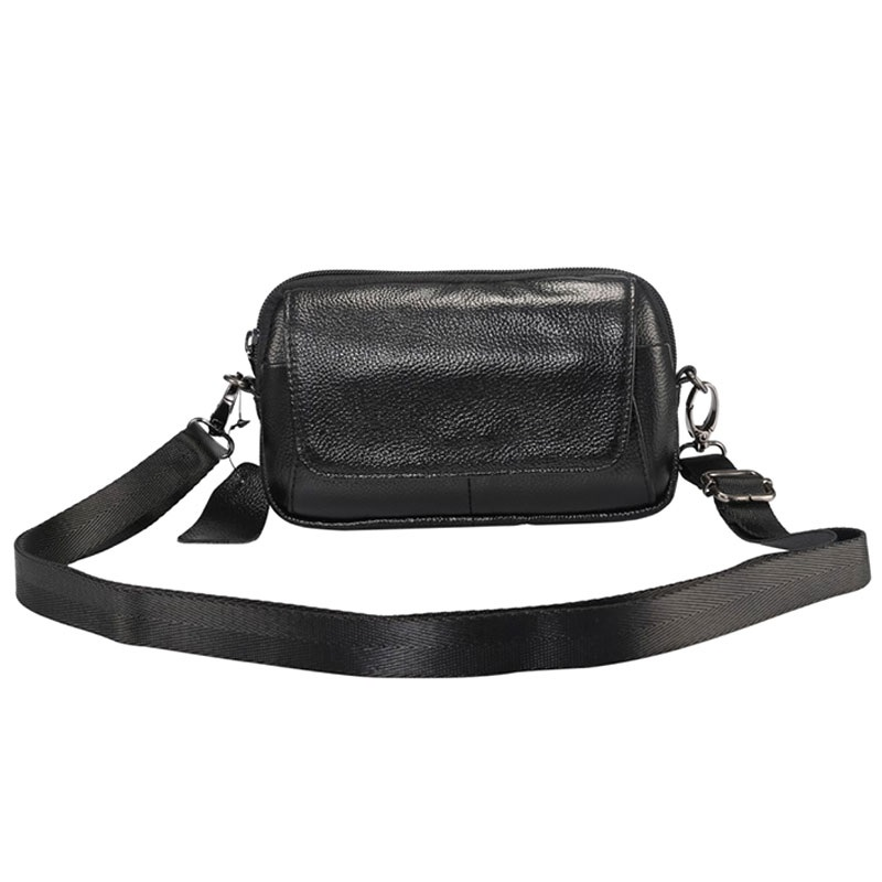 Universal Horizontal Leather Shoulder Bag